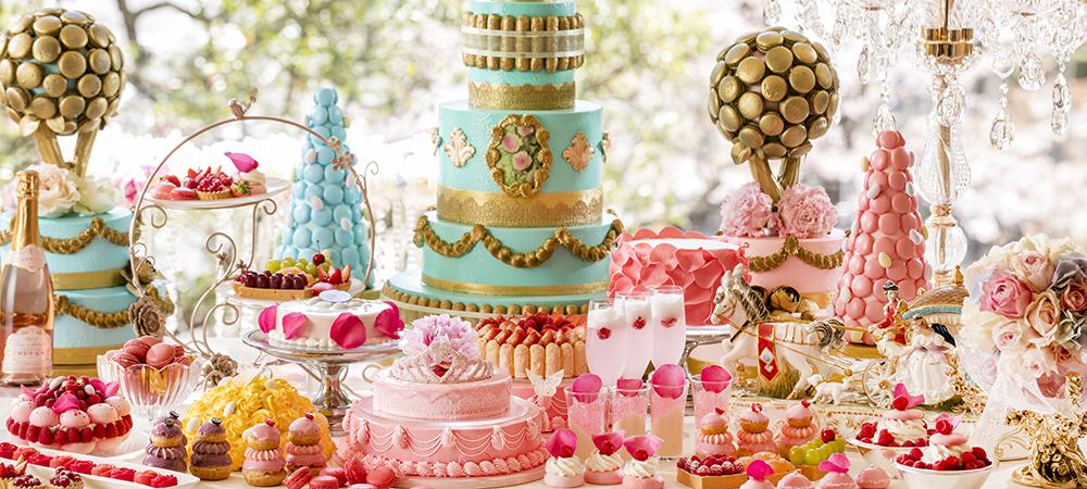 【7/1~開催!】「マーブルラウンジ」世紀のロイヤル・ウェディング「マリー・アントワネットの結婚」デザートフェア
